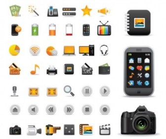 Vector Beautiful And Practical 02 Icon Vector Graphics