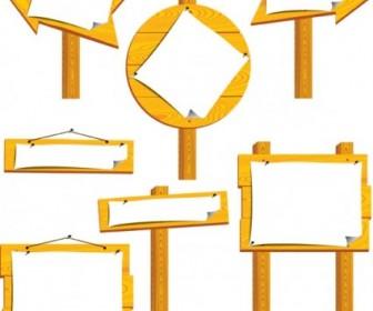 Vector Bulletin Board Vector Art
