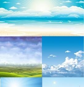 Vector 5 Sky Vector Art