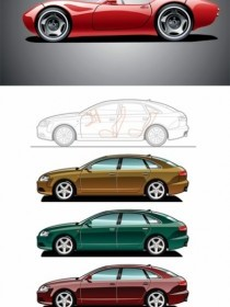 Vector Sports Cars Car Vector Art