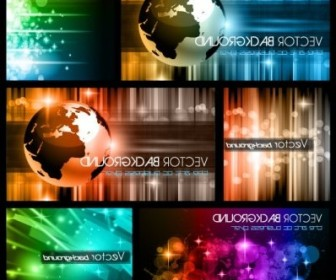 Vector Colorful Trend Of Dynamic 01 Background Vector Art