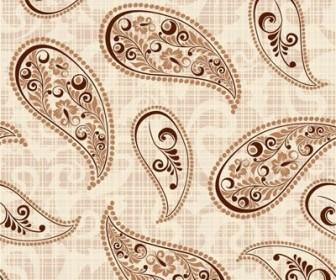 Vector Retro Pattern 4 Background Vector Art