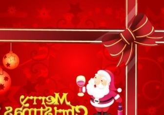 Vector Merry Card Christmas Vector Graphics