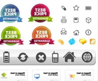 Vector Site Layout And Icons Icon Vector Graphics