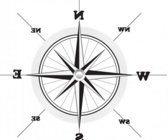 Vector Compass Vector Art