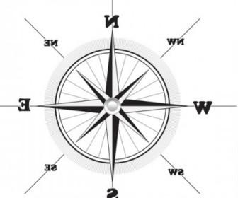 Vector Compass Vector Art