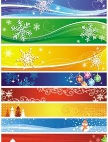 Vector Exquisite Christmas Vector Banner