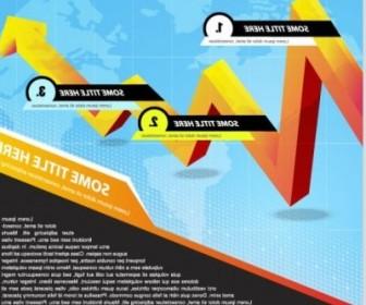 Vector Trend Of Business Cards 02 Vector Art
