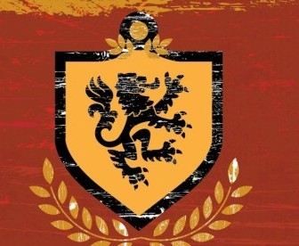 Vector Lion Shield Coat Of Arms Vector Art