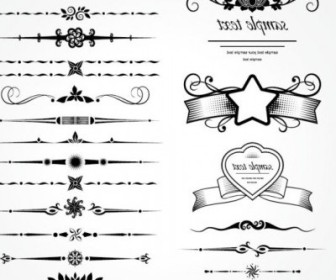 Vector Retro Lace 07 Pattern Vector Art