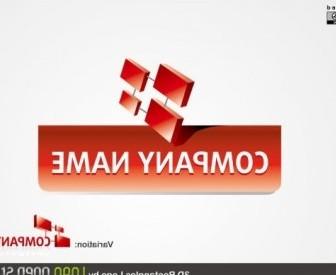 Vector 3d Logo Vector Art
