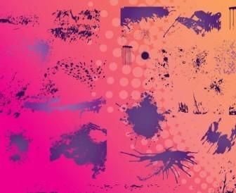 Vector Grunge Borders Vector Art