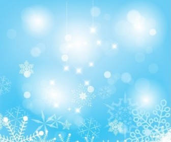 Vector Abstract Snow Background Christmas Vector Graphics