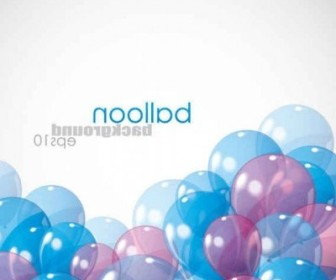 Vector Balloon EPS Background Vector Art