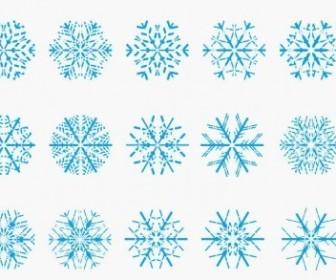 Vector Snowflake Vector Art