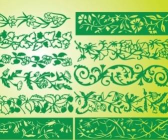 Vector Borders Flower Vector Art