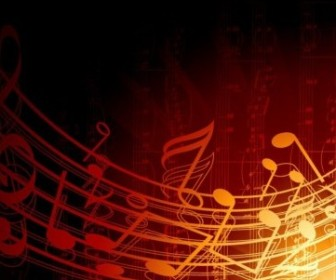 Vector Music Background Illustration Abstract Vector Graphics