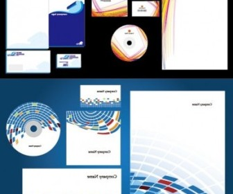 Vector Basic Enterprise Vi Template Vector Art
