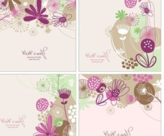 Vector Handpainted Pattern 02 Background Vector Art
