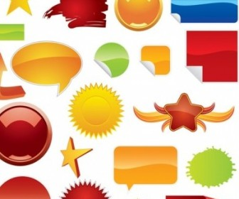 Vector Beautiful Web20 Icon Vector Graphics