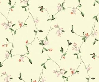 Vector Simple And Elegant Pattern Background Flower Vector Art