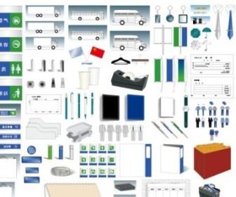 Vector Design Template Comprehensive Vi Elements Ai Format Vector Art