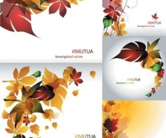 Vector Maple Leaf Theme Vector Art