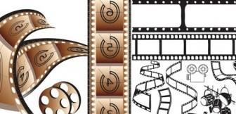 Vector Movie Theme Vector Art