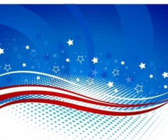 Vector Fourth Of July Background Vector Art