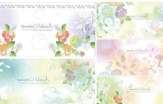 Vector Dream Flowers 2 Flower Vector Art