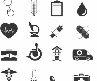 Vector Healthcare Icons Icon Vector Graphics