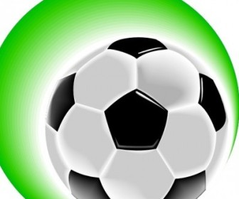 Vector Soccer Ball Vector Clip Art