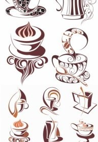 Vector Coffee Icon Vector Graphics