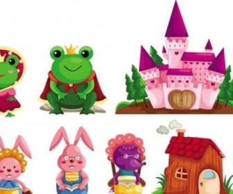 Vector Fairytale Image Of The 01 Cartoon Vector Art