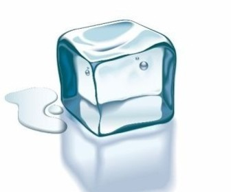 Vector Transparent Ice Vector Art