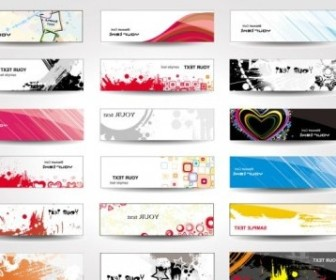 Vector Boutique Card 03 Vector Art