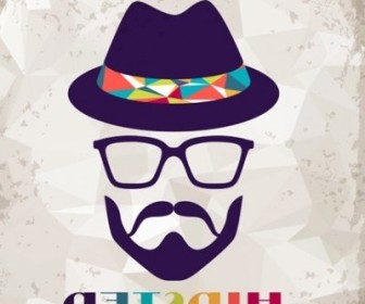 Vector Hipster Retro Background Vector Art