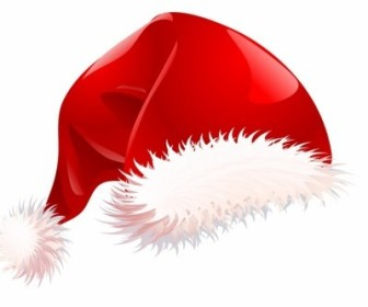 Vector Santa Hat Christmas Vector Graphics