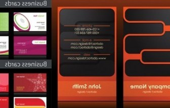 Vector Simple Business Card Background Vector Art