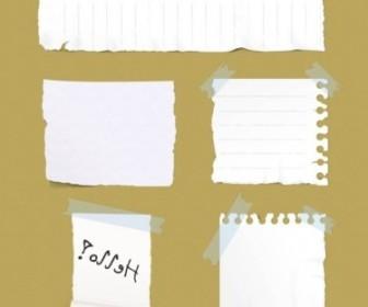 Vector Paper Sticker Psd Layered Vector Art