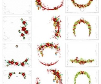 Vector Wreath Collection Christmas Vector Graphics