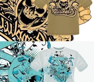 Vector Tshirt Pattern Vector Art