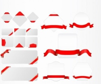 Vector Ribbon And Tag Vector Art