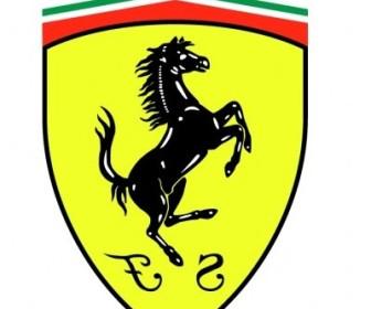 Vector Ferrari Ges Logo Vector Art