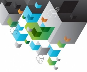 Vector Geometric Background Abstract Vector Graphics