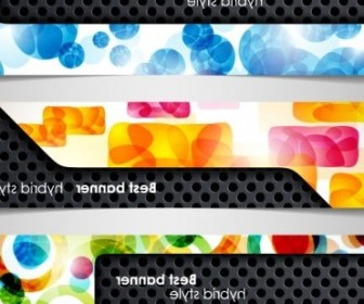 Vector A Variety Of Topics Banners 02 Vector Banner