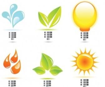 Vector Creative Light Bulb Icon Vector Graphics