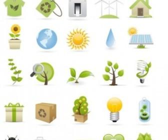 Vector Green Icon Vector Graphics