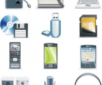 Vector Digital Equipment Icon Vector Graphics