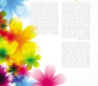 Vector Dream Spring Flowers Background 04 Flower Vector Art